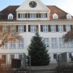 Sanierung und Bauwerksabdichtung des denkmalgeschützten Rathaus- und Schulgebäudes